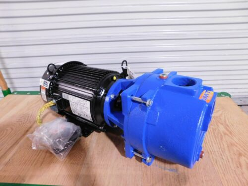 American Machine and Tool 5HP Self Priming Sewage Trash Pump 230/460V 3PH 17/9A