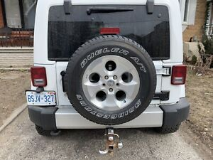 OEM Jeep Wrangler Rims and Tires with TPMs