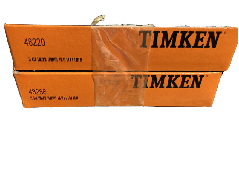 Timken Brand New In Box 48286 Timken tapered Roller bearing and 48220 cup set.