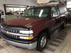 2000 Chevrolet Silverado 1500 Base REGULAR CAB V8 5.3L 4X4