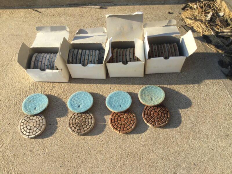 "Concrete grinder polishing pads diamonds 3"""