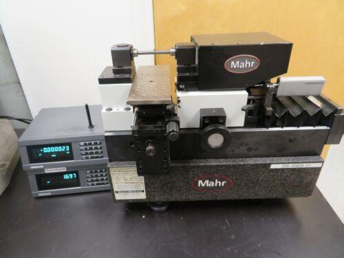 "Mahr 828 UN 120 Universal Length Measuring Machine .000001"" Threads, Rings"