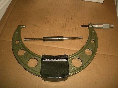 Mitutoyo Metric 175-200mm Range Outside Micrometer