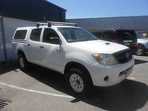 2007 Toyota Hilux SR Turbo Diesel 3.0 Dual Cab Ute 4x4 Wangara Wanneroo Area Preview