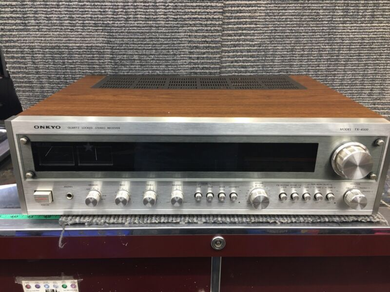 Vintage Onkyo TX-4500 Stereo Receiver  MINTY!!!!! 170 WATTS  -Japan-