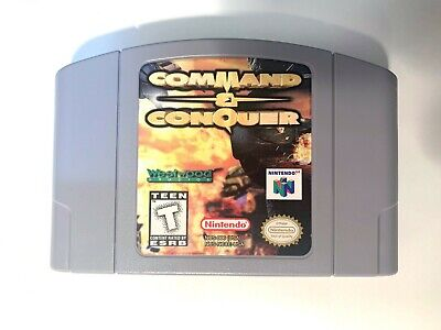 Command & Conquer Nintendo 64 N64 Game Tested WORKING Authentic