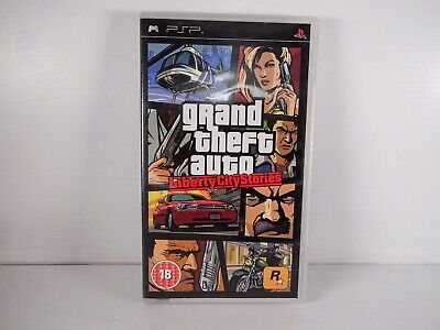 GTA Grand Theft Auto Liberty City Stories PSP | Inc Manual & Poster
