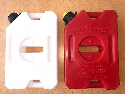 Set Rotopax 1 Gal Water & 1 Gal Gas  For Jeep, ATV, UTV, Polaris RZR
