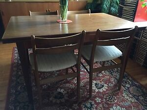 Mid century modern dining chairs - SOLD PPU