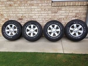 """Isuzu 16"""" rim and tyres Bligh Park Hawkesbury Area Preview"""