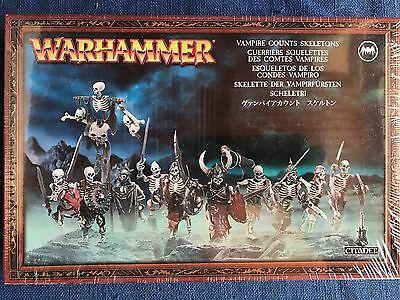 Undead SKELETONS Horde Citadel PBS1 Skeleton Warhammer Vampire Counts Oldhammer