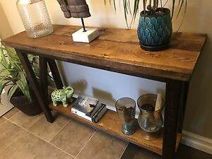 Console table solid wood high quality