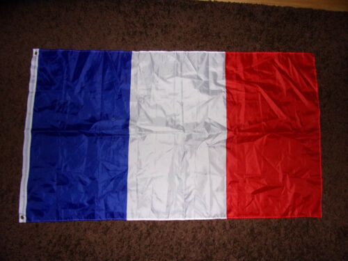 France Blue White & Red Olympic Soccer  Cycling Sports French Pride Nylon Flag