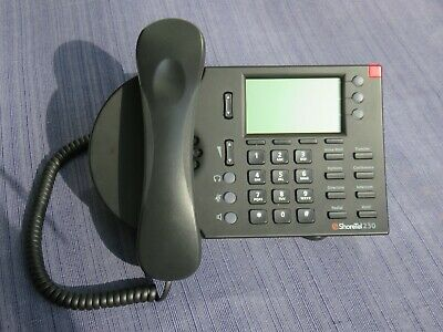 Shoretel Model Ip 230 Voip Display Telephone Handset Stand Black Dozens Avail.