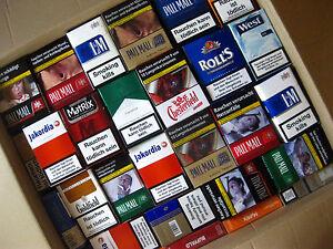 ♠ 100 leere Zigarettenschachteln ♠ DEKO ♠ PARTY ♠ Geburtstag ♠ SCHACHTELKRANZ ♠