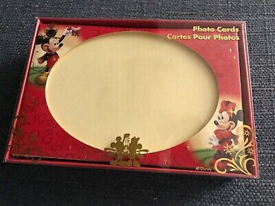 Disney Christmas Photo Cards (New box of 12 Disney Characters Photo Christmas Cards & envelopes 4)