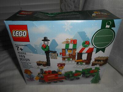 Lego 40262 Christmas Market Train Ride New Sealed Damaged Box