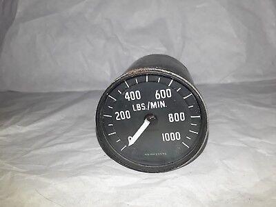 6A 5952 LBS/Mins 0-1000 Fuel Flow Meter