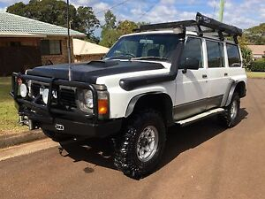 GQ Nissan Patrol Wagon On Gas Clunes Lismore Area Preview
