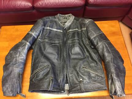 Leather Jacket RETRO RIDER CLASSIC