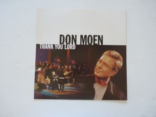 Don Moen Thank You Lord LP Record Photo Flat 12x12 Poster