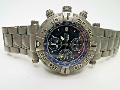 Invicta Men's Subaqua Noma I Automatic Chronograph 4378 Watch Valjoux 7750