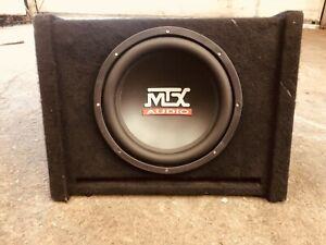 12 inch MTX AUDIO SUBWOOFER WITH CABINET