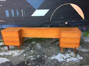 bedside tables, bedhead, mid century, eames era, WE CAN DELIVER Brunswick Moreland Area Preview
