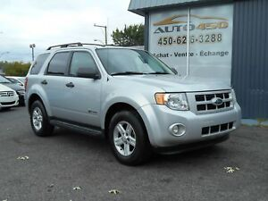 Ford Escape HYBRIDE 2009 ***MAGS,4X4,AIR CLIMATISE***