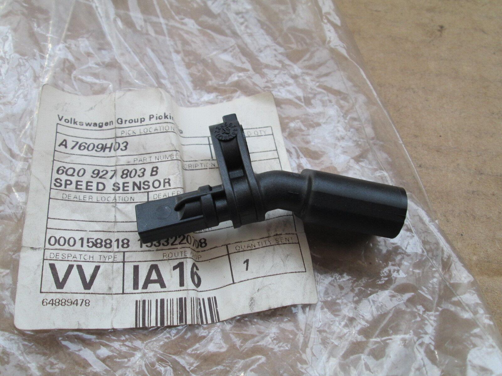 6Q0927803B Genuine VW ABS Speed Sensor Front//Left 6Q0927803B