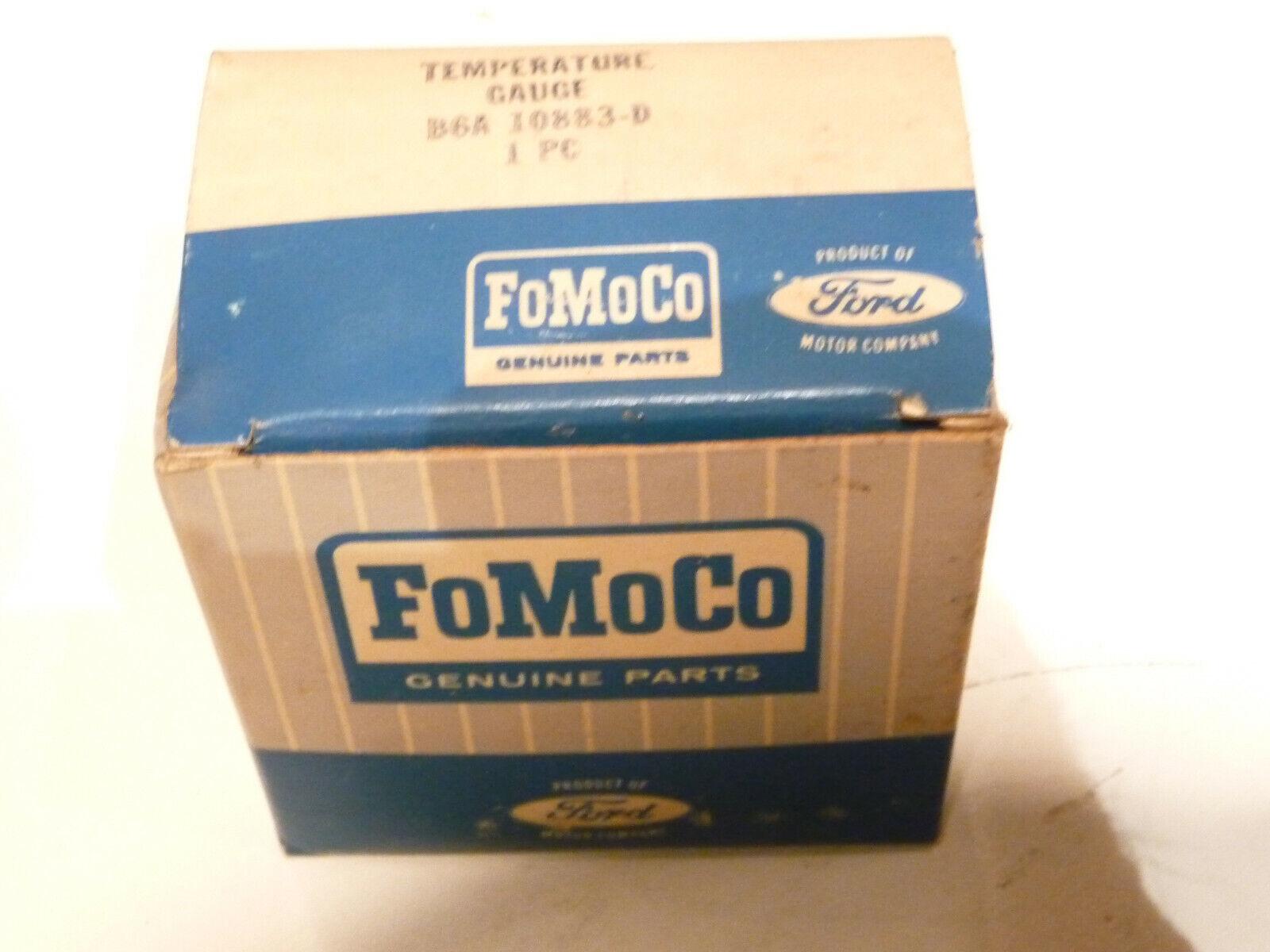 1956 ford NOS temperature/ temp gauge B6A-10883-A Fairlane crown sunliner FoMoCo