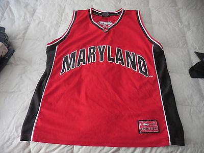 Colosseum Maryland Terapins Terps Basketball Jersey #3  Sz. XL