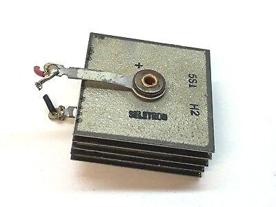Vintage Seletron 5s1 H2 Selenium Rectifier