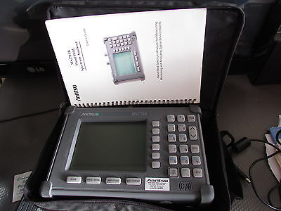 Anritsu Ms2711b Handheld Spectrum Analyzer 100khz-3ghz