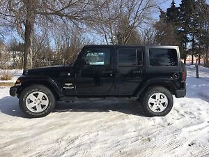 2011 JEEP WRANGLER SAHARA 4 DOOR