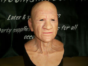 Sid the old guy silicone mask by PPFX made to order