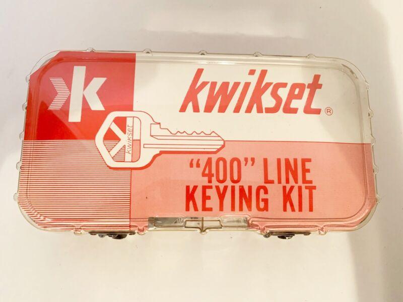 Kwikset 400 Line Keying Kit Locksmith Supplies