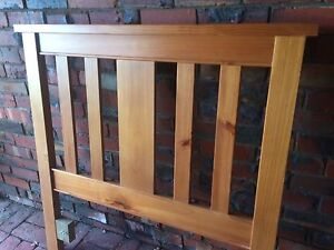 Solid Timber bed head Mont Albert North Whitehorse Area Preview