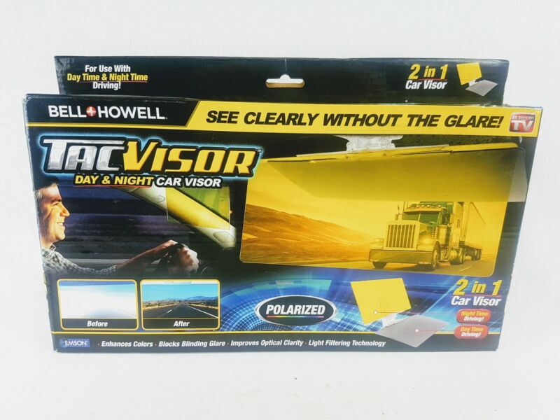 Bell and Howell TAC VISOR w/Pouch AS SEEN ON TV