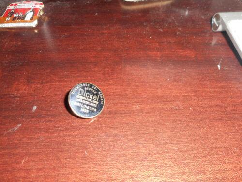 Tennessee Jaycees JCI Senate George Dickel whiskey Gatlinburg 1989 lapel pin
