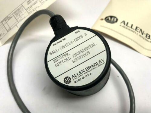 Allen Bradley 845L-SAHZ14-CNY3 Series A Optical Incremental Encoder