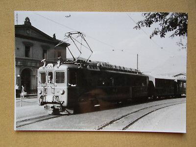 313 Foto SCHWEIZ-RhBTriebwagen um 1966
