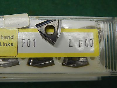 5 Komet P01 L P40 Carbide Inserts