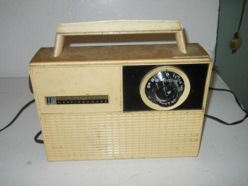Westinghouse Three Way Portable Vintage Radio