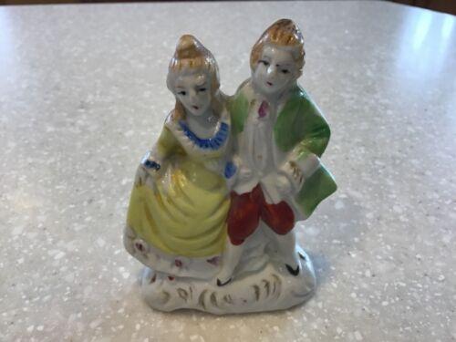 Vintage Victorian Ceramic Couple Figurine