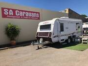 TRAVELLER HURRICANE 19' with AIR CONDITIONING and ISLAND BED Klemzig Port Adelaide Area Preview