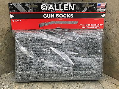 """New Allen Knit Gun Sock 13160  6 Pack 52"""" Long"""