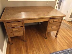 Teacher's Desk & Chair