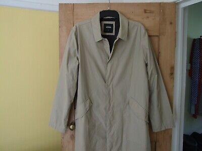 Burton's mens beige raincoat. Large