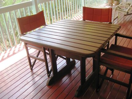 Verandah tables and chairs for sale Chapel Hill Brisbane North West Preview